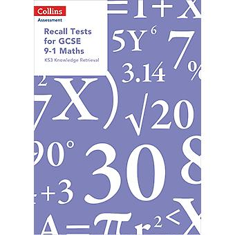 Recall Tests for GCSE 91 Maths