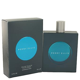 Perry Ellis Pour Homme by Perry Ellis Eau De Toilette Spray 3.4 oz / 100 ml (Men)