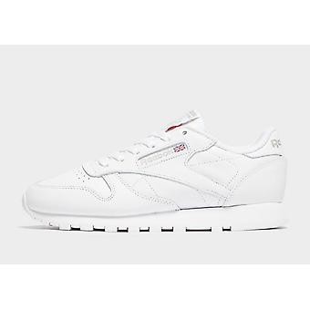New Reebok Women's Classic Leather Trainers White