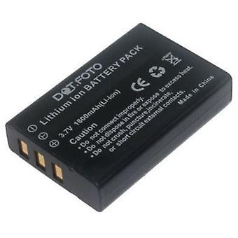 Bateria de substituição de NP-120 Dot.Foto Aiptek - 3.7 v / 1800mAh