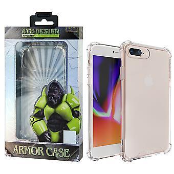 ATB Design Anti Shock Case TPU+PC iPhone 8 Plus - 7 Plus Transparent