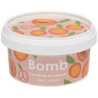 Bomb Cosmetics Face Wash - Freedom Of Peach