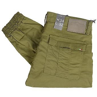 883 Police Moriarty Jup Slim Fit Khaki Combat Trousers