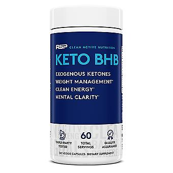 Rsp ketobhb, exogenous ketones for ketosis support, energy, metabolism, weight management, focus (240 capsules)