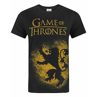 Game Of Thrones House Lannister Men's T-Shirt