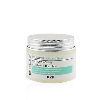 Lab+ hidratação e umidade do creme de gel rico em água tripla (para todos os tipos de pele) 245807 50g/1,76oz