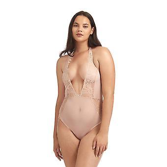 Bluebella 40055 Women's Amelie Rose Dust Lace One Piece Body