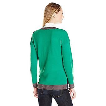 Blizzard Bay Women's Ugly Christmas Jesus Sweater, Bday Green, Medium