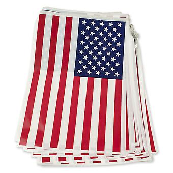 Bristol Novelty USA Flag Bunting