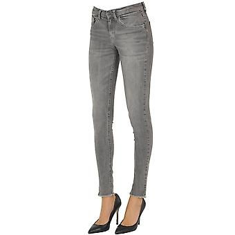 Brian Dales Ezgl250008 Women's Grey Cotton Jeans