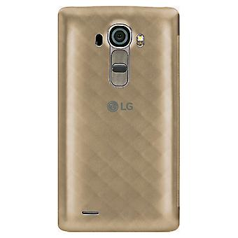5 Pack -LG Quick Circle Snap On Folio Case for LG G4 (Gold)