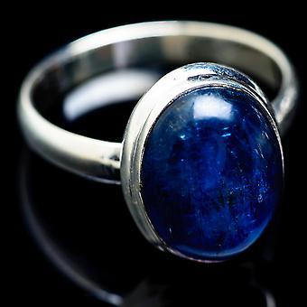 Kyanite Ring Taille 14 (925 Sterling Argent) - Bijoux Boho Vintage maison à la main RING2618