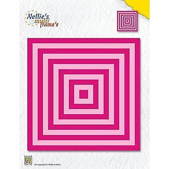 Nellie's Choice Multi Frame Die - XL square straight corners MFD119 130x130mm