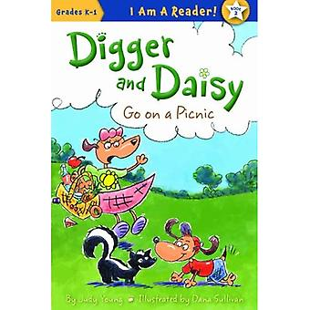 Digger and Daisy Go on a Picnic (I Am a Reader!: Digger and Daisy)