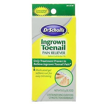 Dr. scholl's ingrown toenail pain reliever gel, 0.3 oz