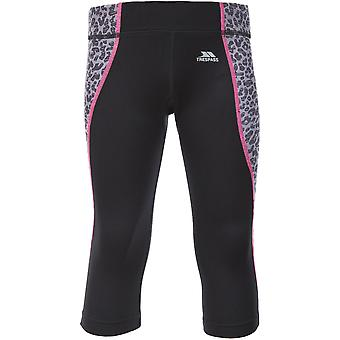 Trespass Girls Perform Wicking Quick Dry Short Active Leggings