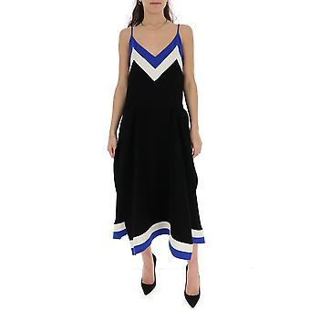 Mulberry Mywq501727yq440500d001 Women's Black Polyester Dress