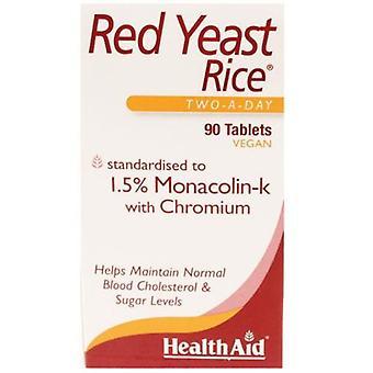 HealthAid Rote Hefe Reis Tabletten 90 (803023)
