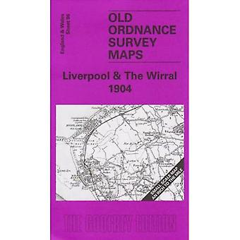Liverpool et The Wirral 1904 (Old O.S. Maps of England et Wales) [Carte pliée]