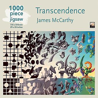 Adult Jigsaw Puzzle James McCarthy Transcendence  1000piece Jigsaw Puzzles by Created by Flame Tree Studio