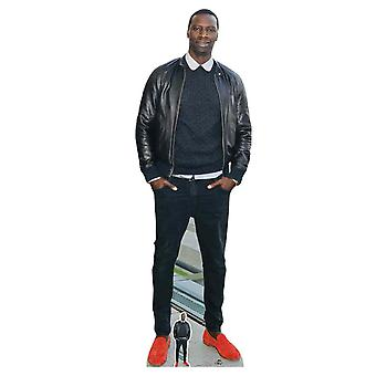 Omar Sy Celebrity Kartong Cutout / Standee / Standup / Standee