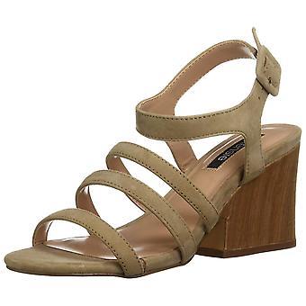kensie Womens Ebony Open Toe Casual Slingback Sandals