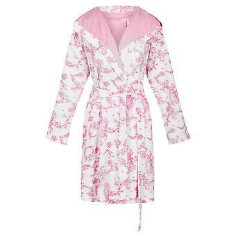 Rösch 1203160-15649 Women's New Romance Toile de Jouy Pink Robe Dressing Dress Dress