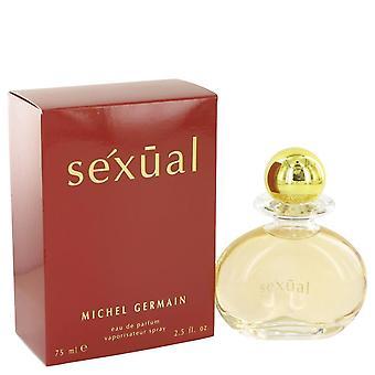 Sexual Eau De Parfum Spray (Red Box) By Michel Germain 2.5 oz Eau De Parfum Spray