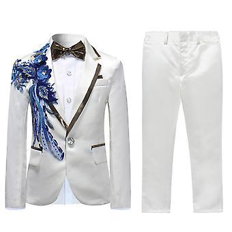 Allthemen Boy ' s oblek 2 kusy bundy & kalhoty