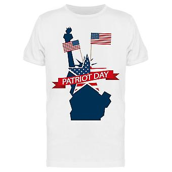 Patriot Day. Hologramm Tee Men's -Bild von Shutterstock
