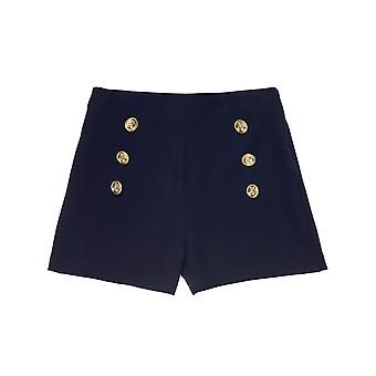 Alouette Girls' Shorts With Decorative Buttons