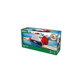 Brio 33569 Brio Light & Sound Ferry Ship For Wooden Railway