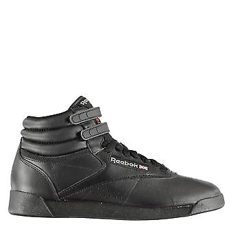 Reebok Womens FreeStyle Ladies Hi Top Shoes Touch & Close Padded Heel & Ankles