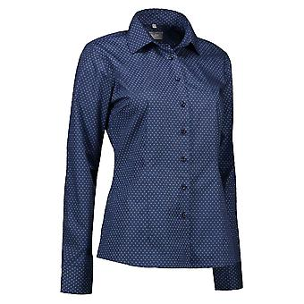 ID Womens/Ladies Print Virginia Shirt Modern Fit