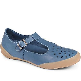 Jones Bootmaker Womens Leather Buckle Shoe