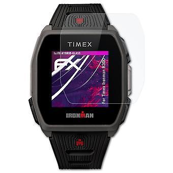 atFoliX 3x Screen Protector yhteensopiva Timex Ironman R300 Näytönsuojakalvo selkeä