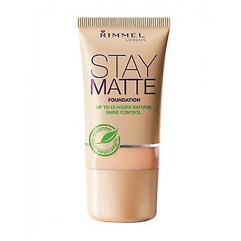 Rimmel Stay Matte Foundation - 004 Brons
