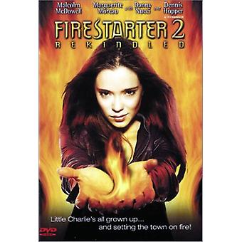 Firestarter 2-aangewakkerd [DVD] USA import