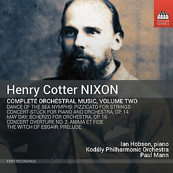 Nixon / Hobson / Mann - Nixon / Hobson / Mann: Complete Orchestral Music 2 [CD] USA import