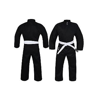 Yamasaki Pro Black Karate Uniform 10Oz Adult
