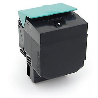 RudyTwos erstatning for Lexmark C540H1KG tonerkassett svart kompatibel med C540n, C543dn, C544dn, C544dtn, C544dw, C544n, C546dtn, X543dn, X544dn, X544dtn, X544dw, X544n, X546dtn