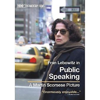 Public Speaking [DVD] USA import