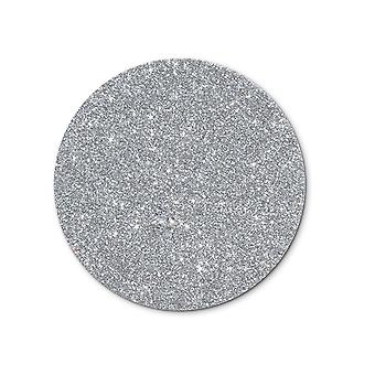 Single Christmas Silver A4 Sheet Glitter Card   Coloured Card for Crafts