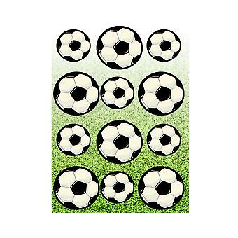 Single Football Sticker Sheets for Kids Party Bags