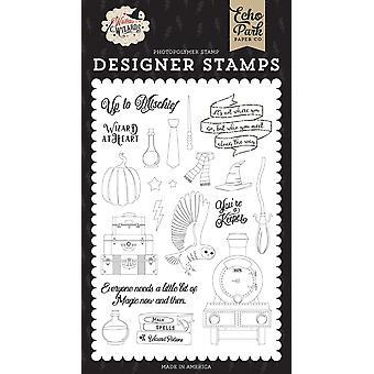 Echo Park Stamps - Sorcier dans l'âme, Sorcières & Assistants