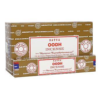 Something Different Satya Oodh Incense Sticks (Box Of 12 Packs)