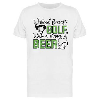 Golf mahdollisuus oluen Tee Miehet & apos; s -Kuva Shutterstock