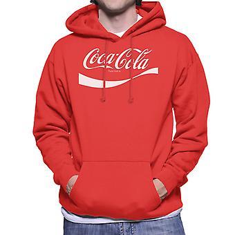 Coca Cola 1941 swoosh logo homens ' s camisola com capuz