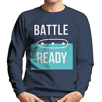 Hasbro Battleship BattleShip Battle Ready Men-apos;s Sweatshirt