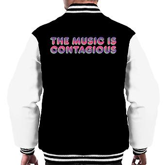 Jem And The Holograms The Music Is Contagious Men's Varsity Jacket
